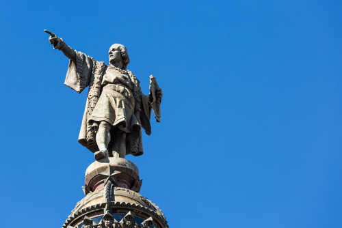 カカオを伝達したコロンブス