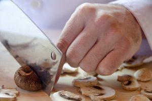 冷凍キノコの作り方